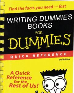 information writing for dummies to make a prairie when it comes to information writing