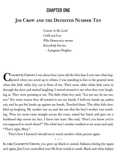 Claudette Colvin Excerpt