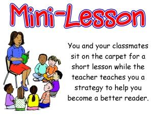 Mini Lesson
