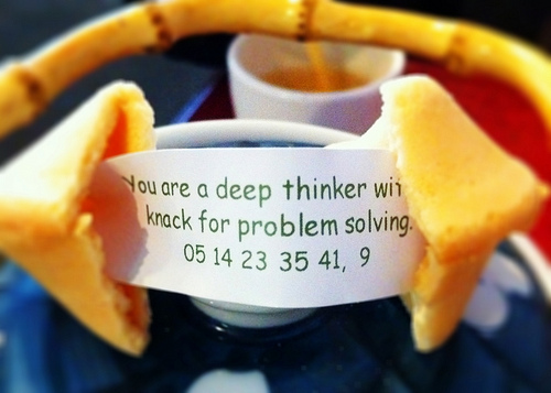 Deep Thinker Fortune Cookie