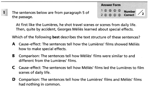 level 2 film essay questions