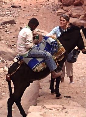 Boy on Donkey
