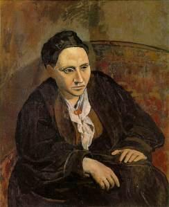 Picasso Portrait of Gertrude Stein