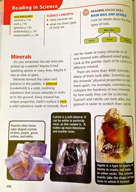 Mineral Textbook Page 1