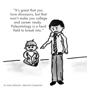 College and Career Ready Cartoon