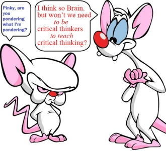 Pinky and the Brain Pondering Critical Thinking2