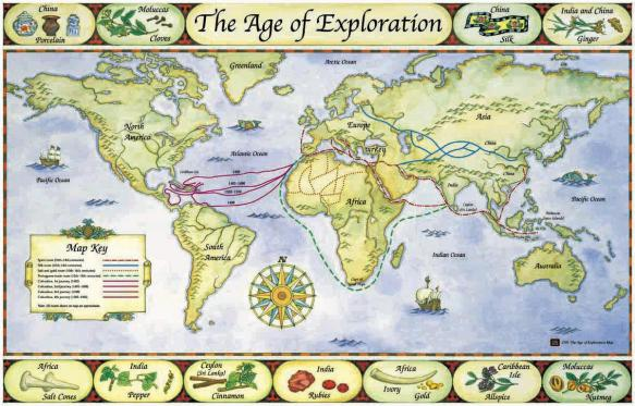 Age of Exploration Map