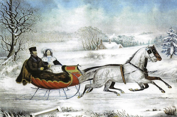 Currier_and_Ives_Otto_Knirsch_The_Road_Winter