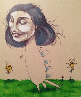 Dragon Girl illustration