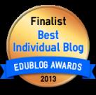 Edublog Finalist Logo