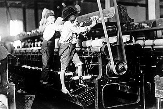 Child Working in Factory