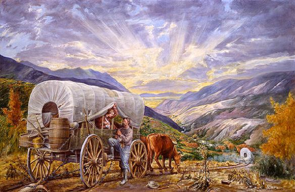 """""""To Them of the Last Wagon"""" by Lynn Fausett"""