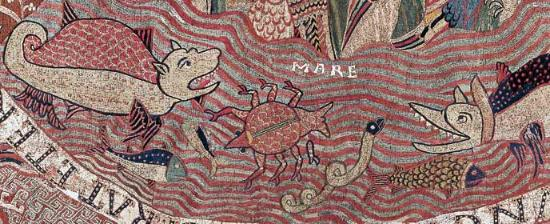 Creation Tapestry detail