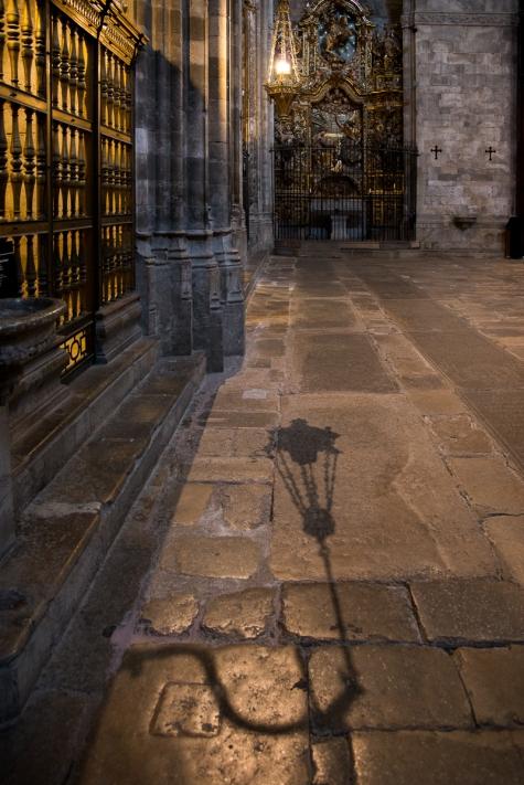 Girona Cathedral Shadow