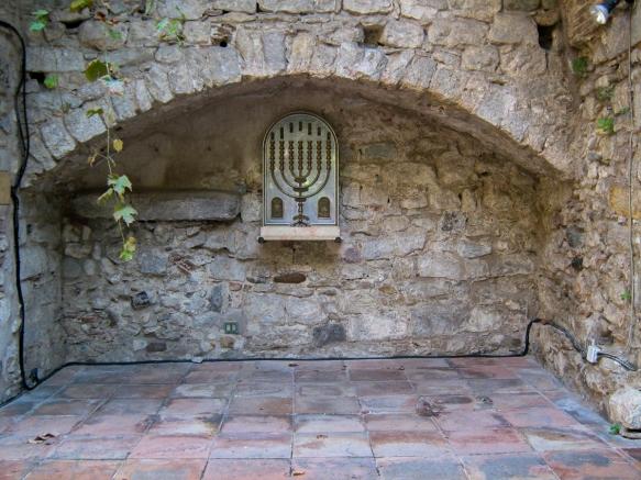 Girona Menorah