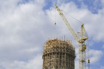 Overly Scaffolded Building
