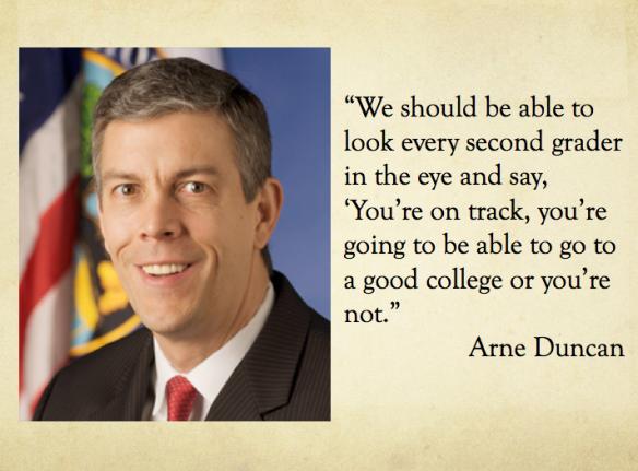 Arne Duncan Quote