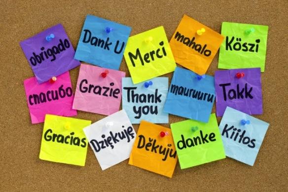 multilingual thankyou
