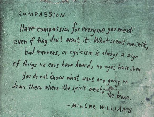 compassion Miller Williams