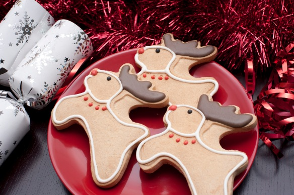 Reindeer Christmas biscuits